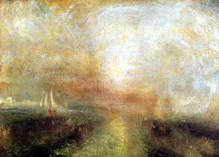 Joseph Mallord William Turner - Yacht Approaching the Coast