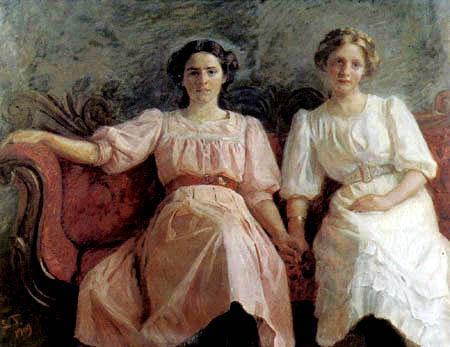 Laurits Tuxen - Yvonne Tuxen und Vibeke Krøyer