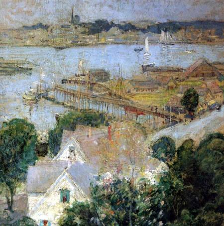John Henry Twachtman - Der Hafen von Gloucester