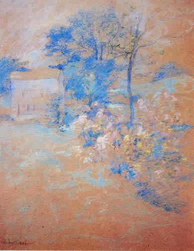 John Henry Twachtman - Spring