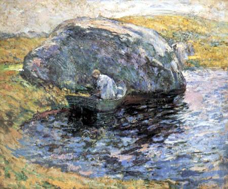 John Henry Twachtman - A Summer Day