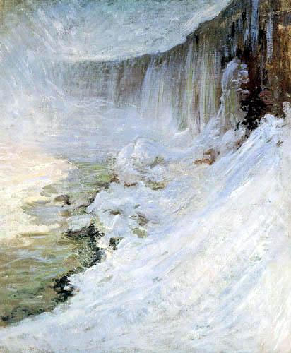John Henry Twachtman - Horseshoe Falls, Niagara