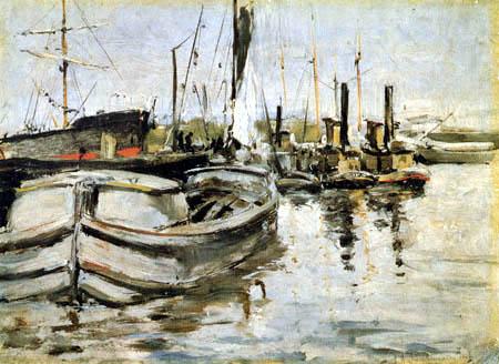 John Henry Twachtman - New York, Harbor