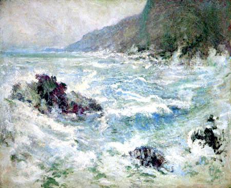 John Henry Twachtman - Sea Scene