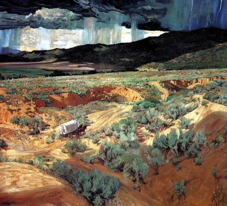 Walter Ufer - Wo die Wüste die Berge trifft