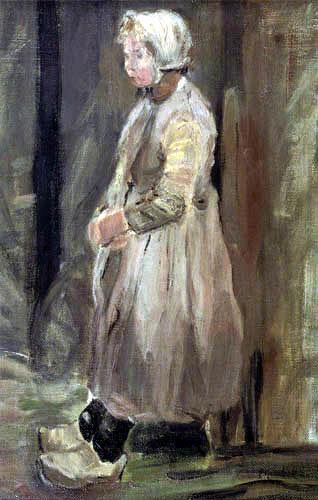 Fritz von Uhde - Holländisches Fischermädchen