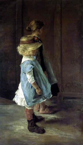 Fritz von Uhde - Kinderstudie