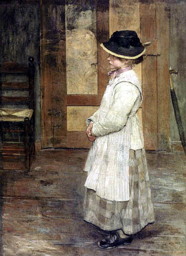 Fritz von Uhde - At the door