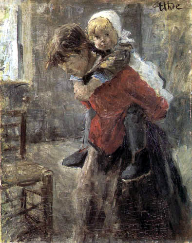 Fritz von Uhde - The large Sister