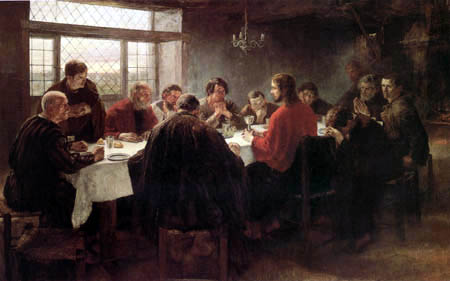 Fritz von Uhde - Das Abendmahl