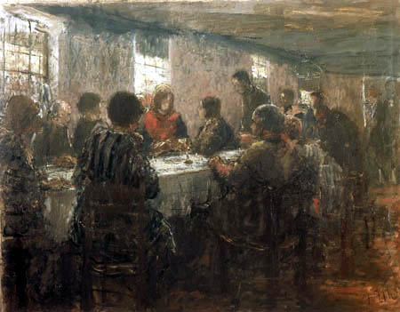 Fritz von Uhde - Study for the Last Supper