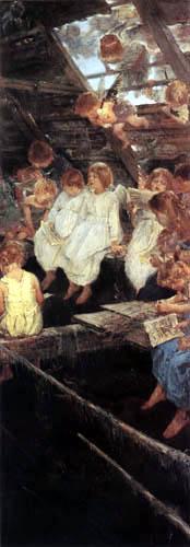 Fritz von Uhde - Gesang der Engel