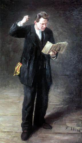 Fritz von Uhde - The Actor