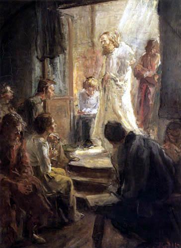 Fritz von Uhde - Die Predigt Christi