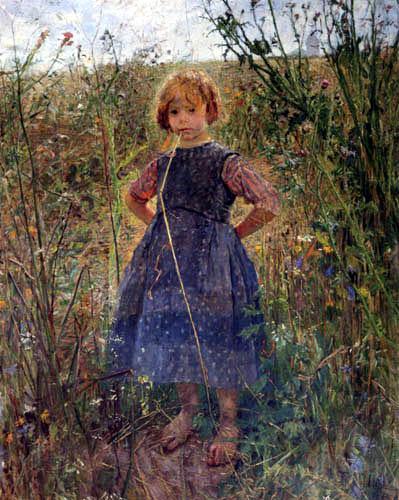 Fritz von Uhde - Heathland Princess