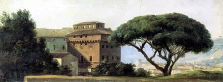Pierre Henri de Valenciennes - The Monastery Ara Coeli