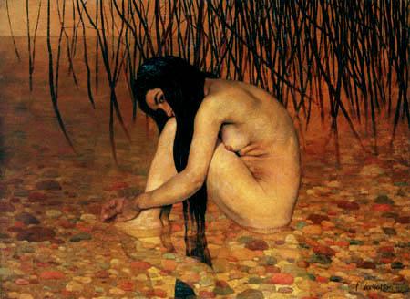 Félix Edouard Vallotton - The bathing