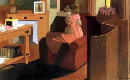 Félix Edouard Vallotton - Intime Szene