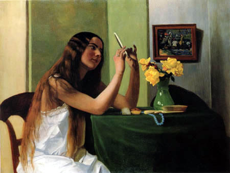 Félix Edouard Vallotton - The toilet