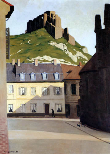 Félix Edouard Vallotton - Le Château Gaillard