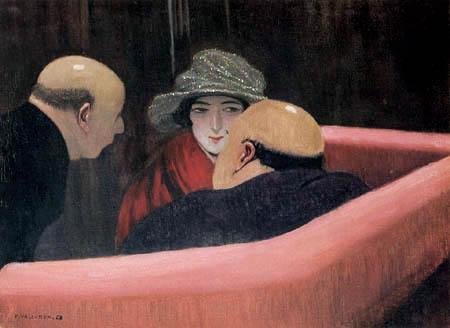 Félix Edouard Vallotton - La chaste Susanne