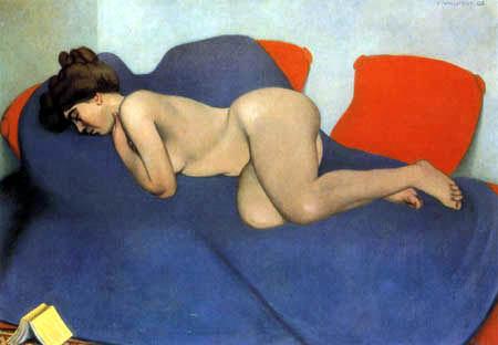 Félix Edouard Vallotton - Der Schlaf