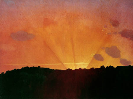 Félix Edouard Vallotton - Sunset