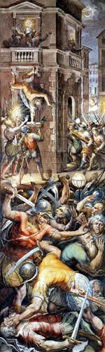 Giorgio Vasari - The Massacre