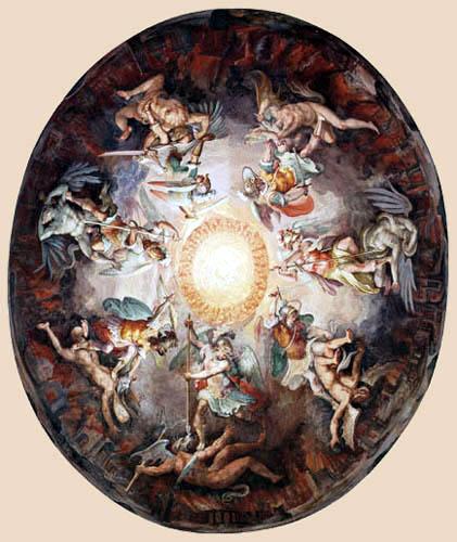 Giorgio Vasari - The Fall of the Rebel Angels