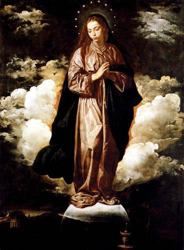 Diego R. de Silva y Velázquez - Hl. Jungfrau der Unbefleckten Empfängnis