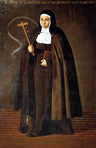 Diego R. de Silva y Velázquez - Mutter Jerónima de la Fuente