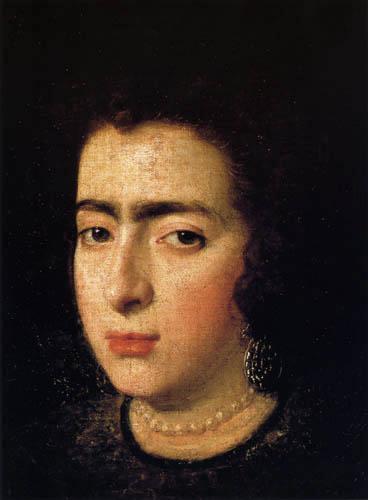 Diego R. de Silva y Velázquez - Portrait of a Woman