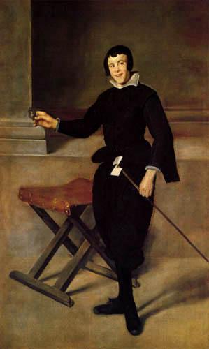 Diego R. de Silva y Velázquez - The Jester Juan Calabazas