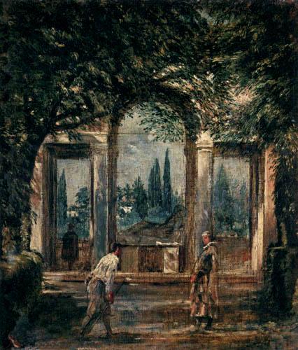 Diego R. de Silva y Velázquez - Villa Medici, Pavillon der Ariadne