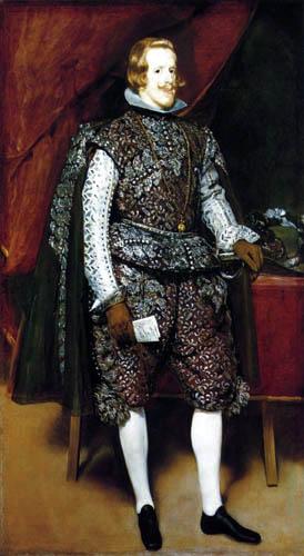Diego R. de Silva y Velázquez - Portrait of Philipp IV
