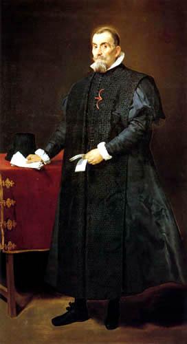 Diego R. de Silva y Velázquez - Don Diego de Corral y Arellano