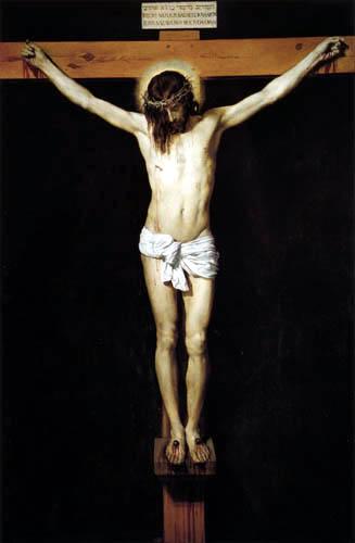 Diego R. de Silva y Velázquez - La crucifixion