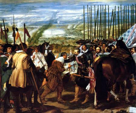 Diego R. de Silva y Velázquez - The Surrender of Breda