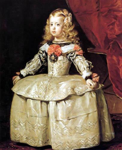 Diego R. de Silva y Velázquez - Infantin Margarete