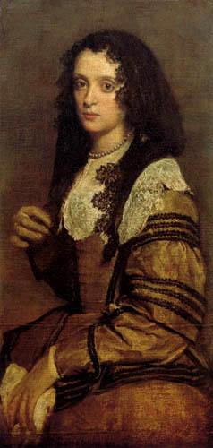 Diego R. de Silva y Velázquez - Portrait of a young Woman