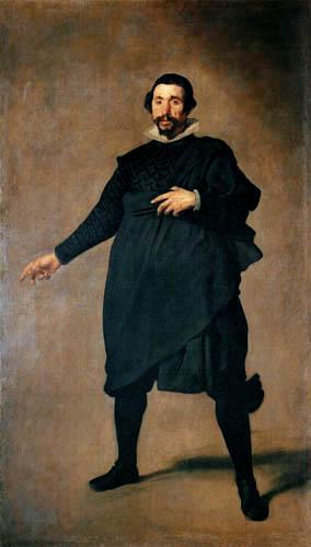 Diego R. de Silva y Velázquez - The Jester Pablo de Valladolid