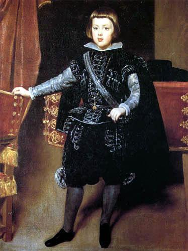 Diego R. de Silva y Velázquez - Prince Baltasar Carlos