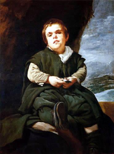 Diego R. de Silva y Velázquez - Le Bouffon Francisco Lezcano