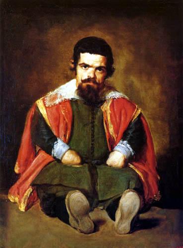 Diego R. de Silva y Velázquez - The Jester Sebastián de Morra