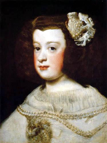 Diego R. de Silva y Velázquez - Infantin María Teresa