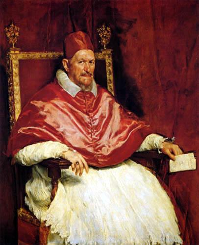 Diego R. de Silva y Velázquez - Innocenz X