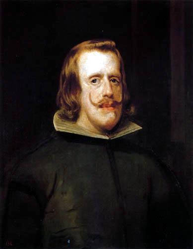 Diego R. de Silva y Velázquez - Philipp IV.
