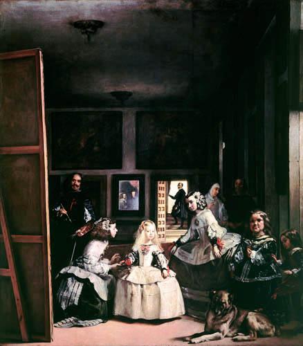 Diego R. de Silva y Velázquez - Las Meninas