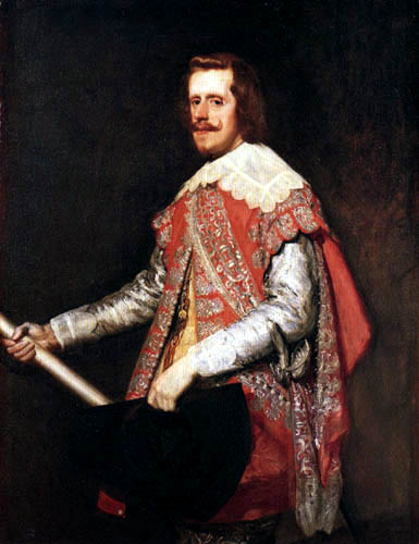 Diego R. de Silva y Velázquez - King Felipe IV
