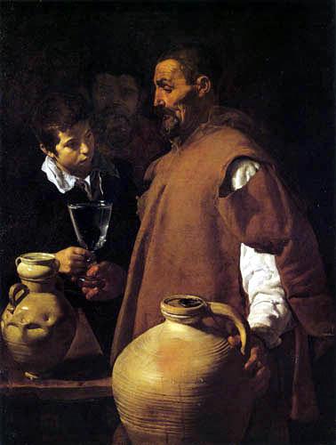 Diego R. de Silva y Velázquez - The water salesman of Sevilla